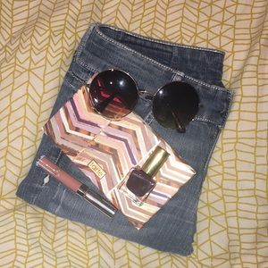 Candies Size 5 Light Wash Distressed Skinny Jeans